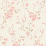 Fiore Wallpaper FO 3402 or FO3402 By Grandeco For Galerie